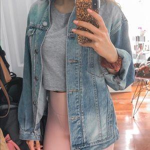 Asos Oversized Jean Jacket